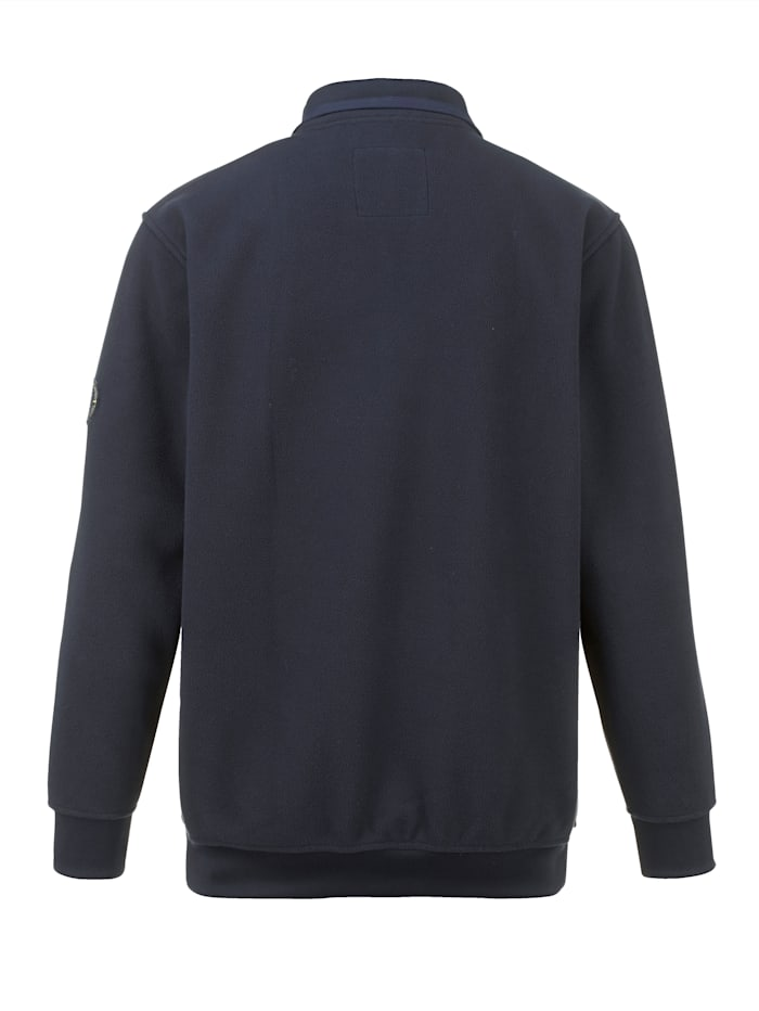 Fleecová bunda super měkká a hřejivá