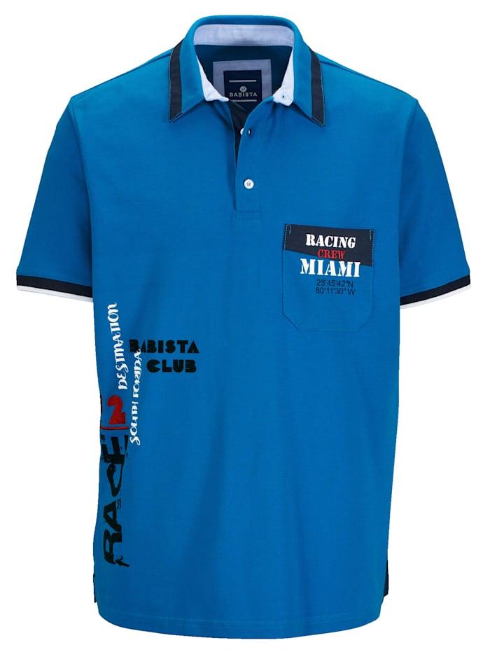 Poloshirt mit aufwändigen Details