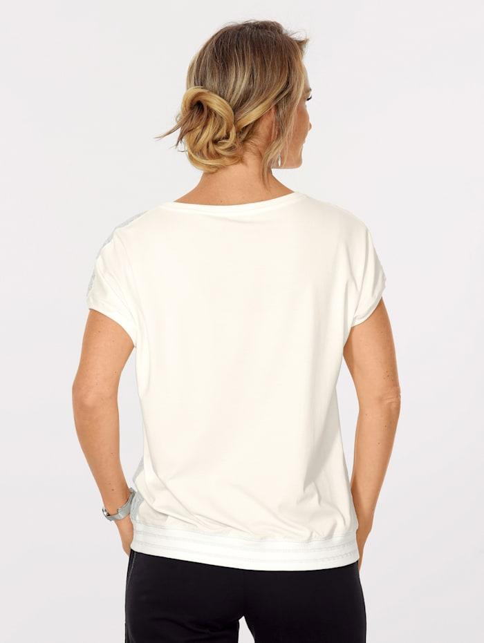 Shirt mit floraler Spitze