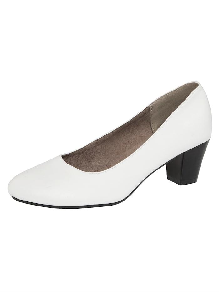 Liva Loop Escarpins de style classique, Blanc