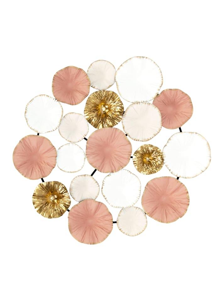IMPRESSIONEN living Wand-Deko, rosé, weiß, goldfarben