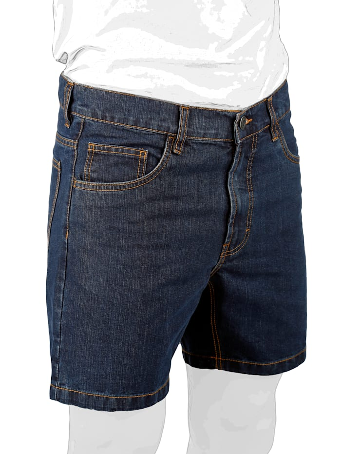 Jeansshorts in 5-Pocket Form
