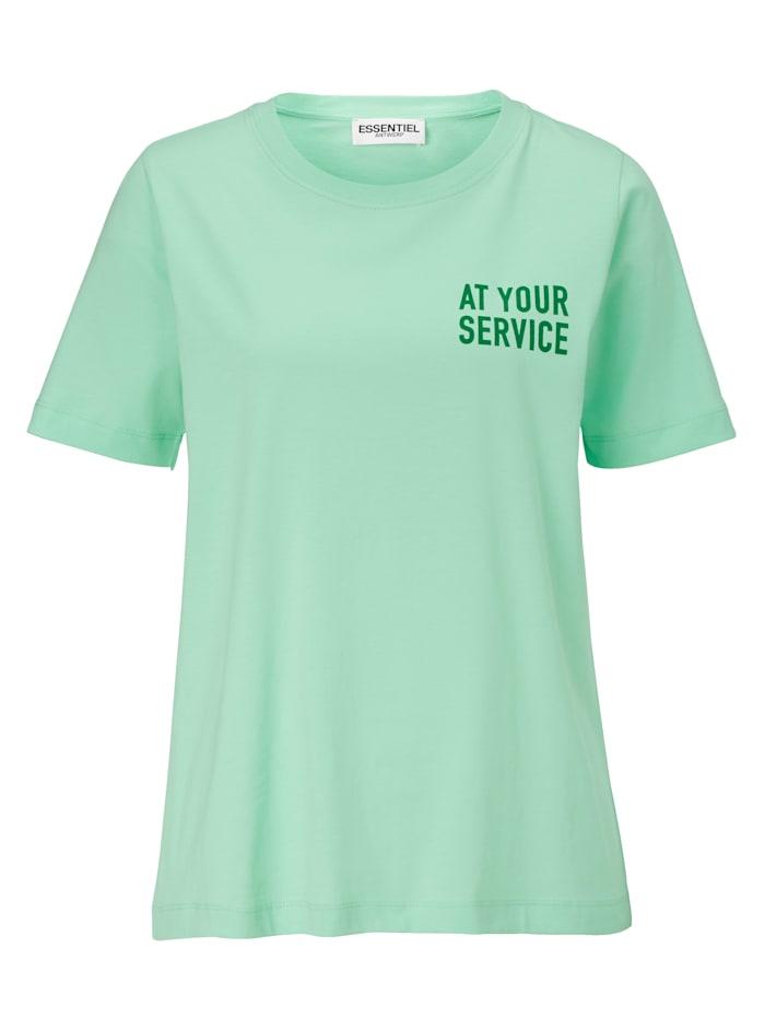 ESSENTIEL ANTWERP T-Shirt, Mintgrün
