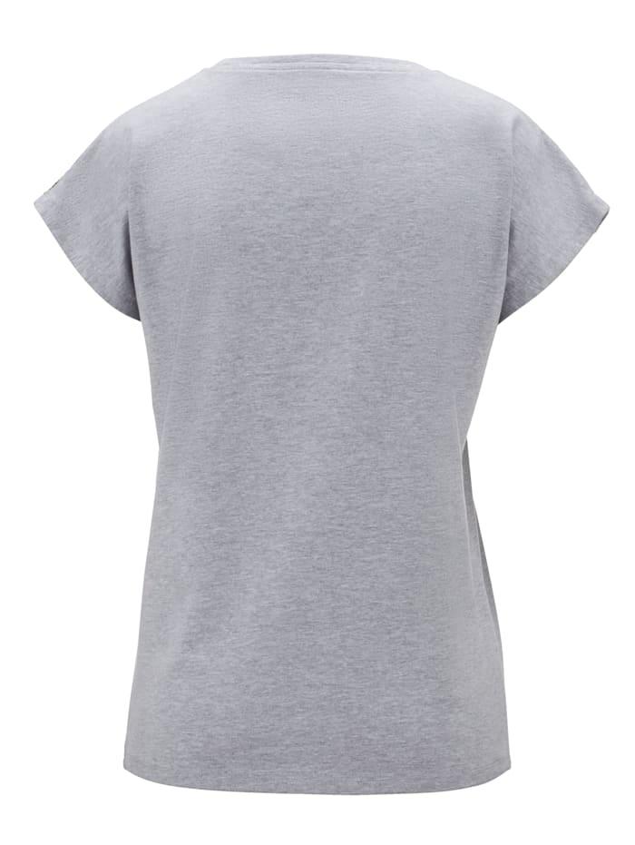 Shirt mit Paillettendeko