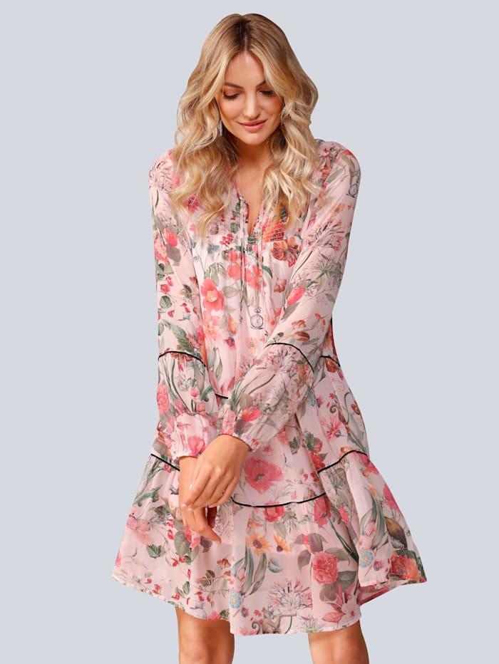 Princess GOES HOLLYWOOD Kleid im floralem Druck, Rosé