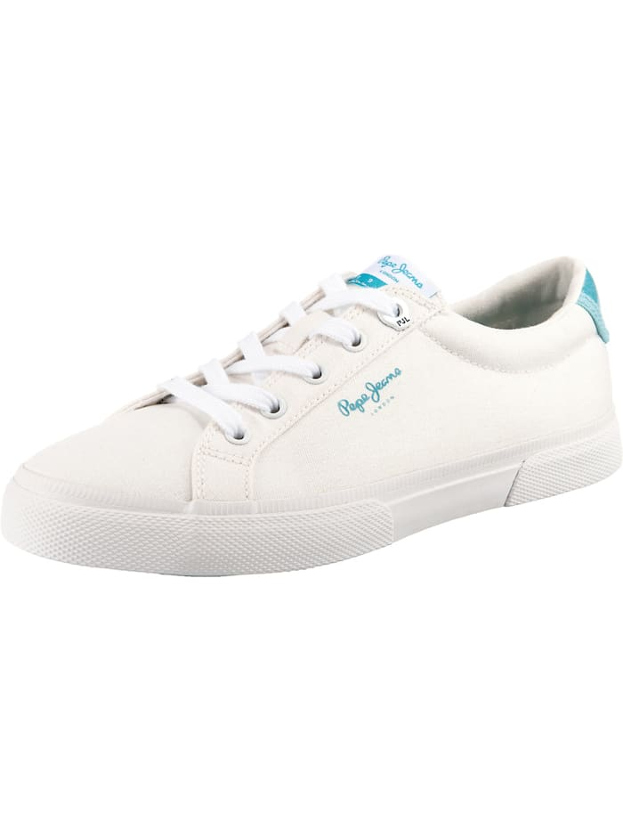 Pepe Jeans Kenton Bass Sneakers Low, weiß