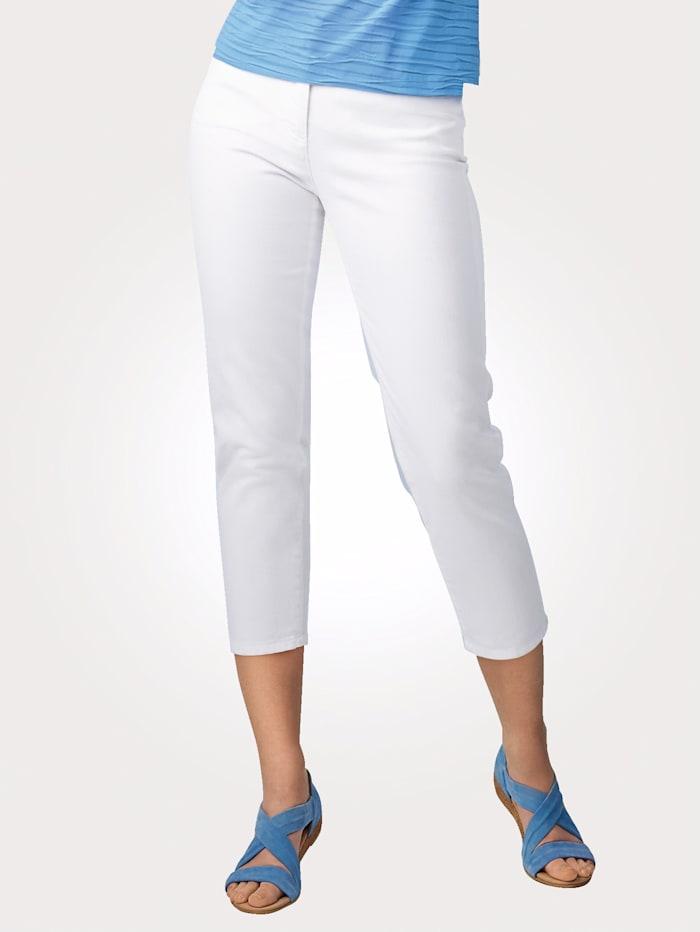Artigiano 7/8 Jeans mit figurformender Funktion, Weiß