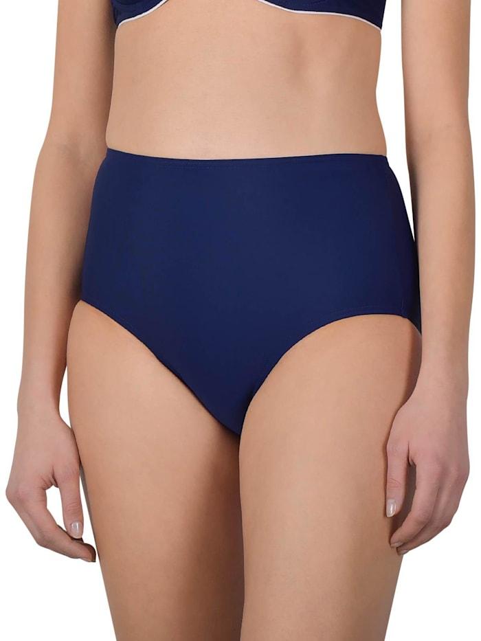 Naturana Damen Taillen-Bikinihose, marine