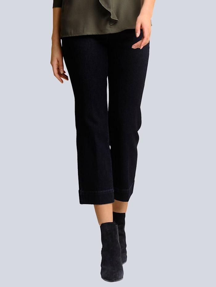 Alba Moda Jeans Culotte im 5-Pocket Style, Dark blue