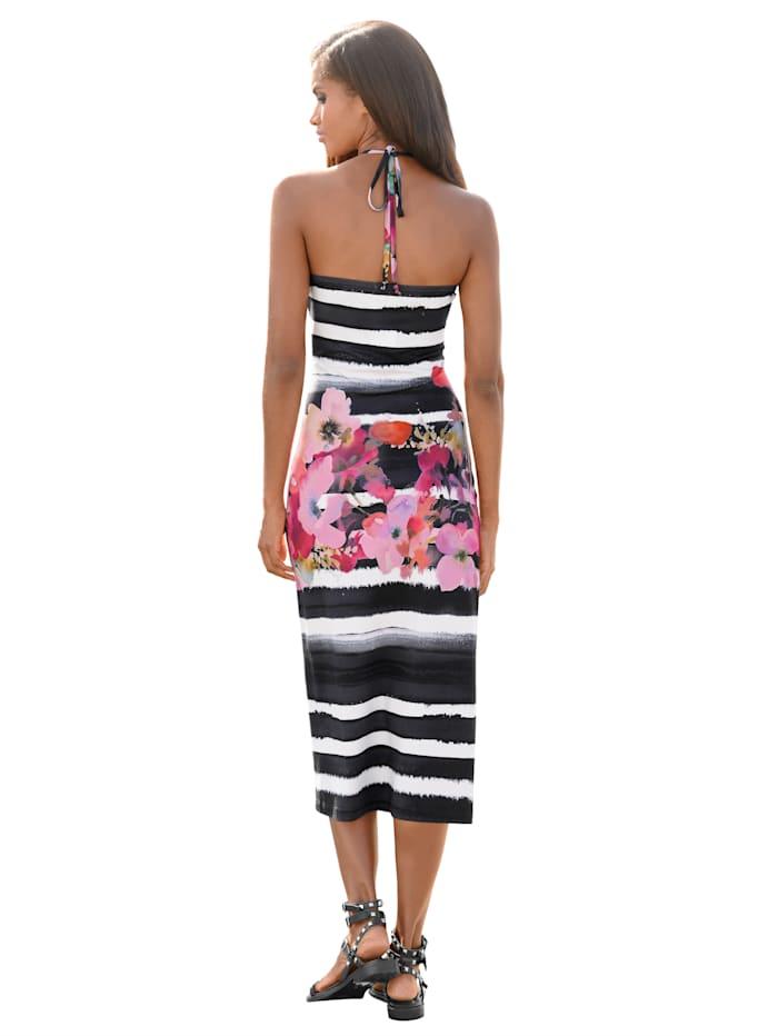 Kleid in Bandeau-Form