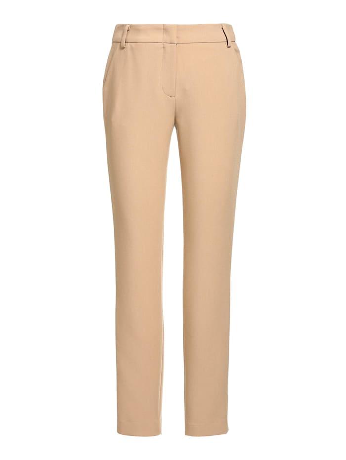 APART Hose mit Bügelfalten, camel