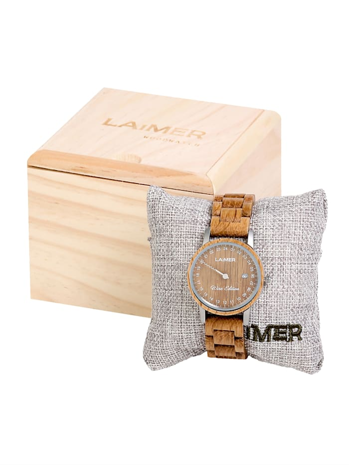 Laimer Damenuhr 0131 Laimer Wine Edition, Braun