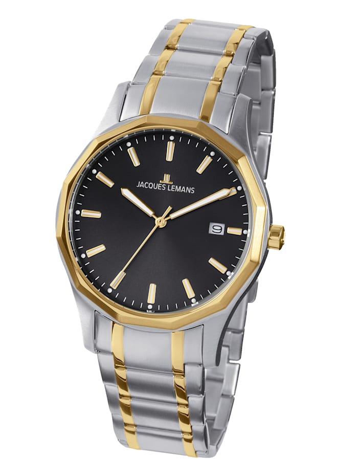 Jacques Lemans Pánské hodinky Stockholm, Classic 1-2012D, Stříbrná