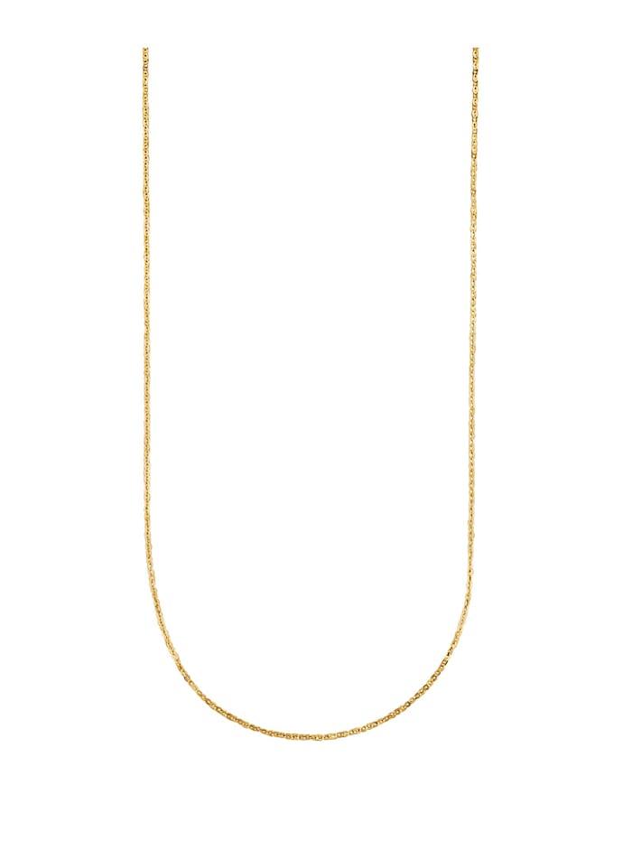 Ankerkette in Massiv Gelbgold 375, Gelb