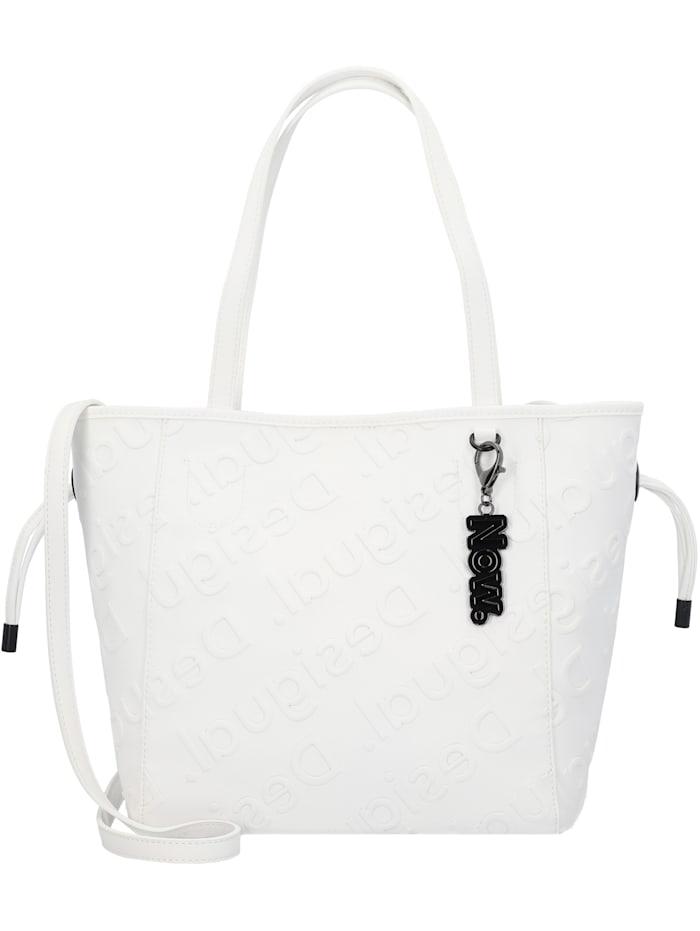 Desigual Colorama Norwich Shopper Tasche 26 cm, blanco