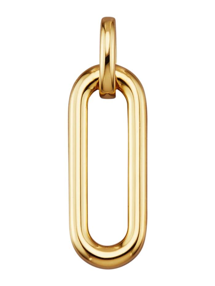 Diemer Gold Pendentif en or jaune 585, Coloris or jaune