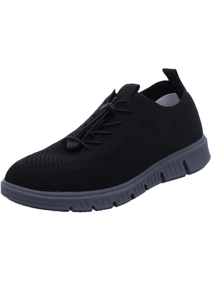Josef Seibel Josef Seibel Herren-Sneaker Falko knitted 23, schwarz, schwarz