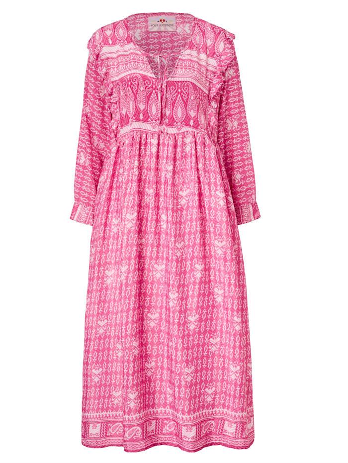 Soul Kathrine Seidenkleid, Pink