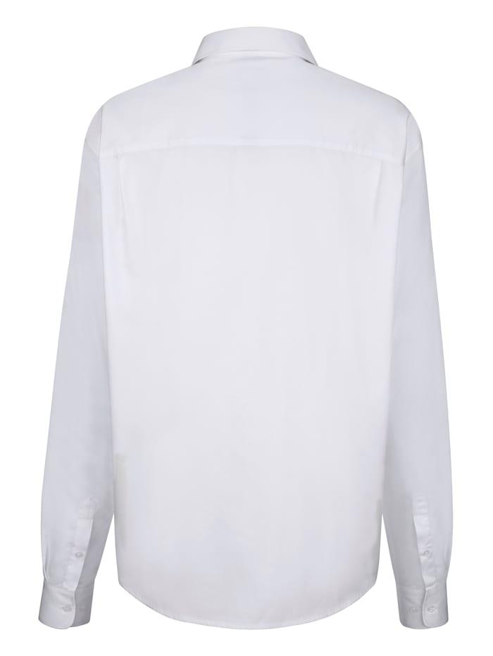 Overhemd met contrastinzet