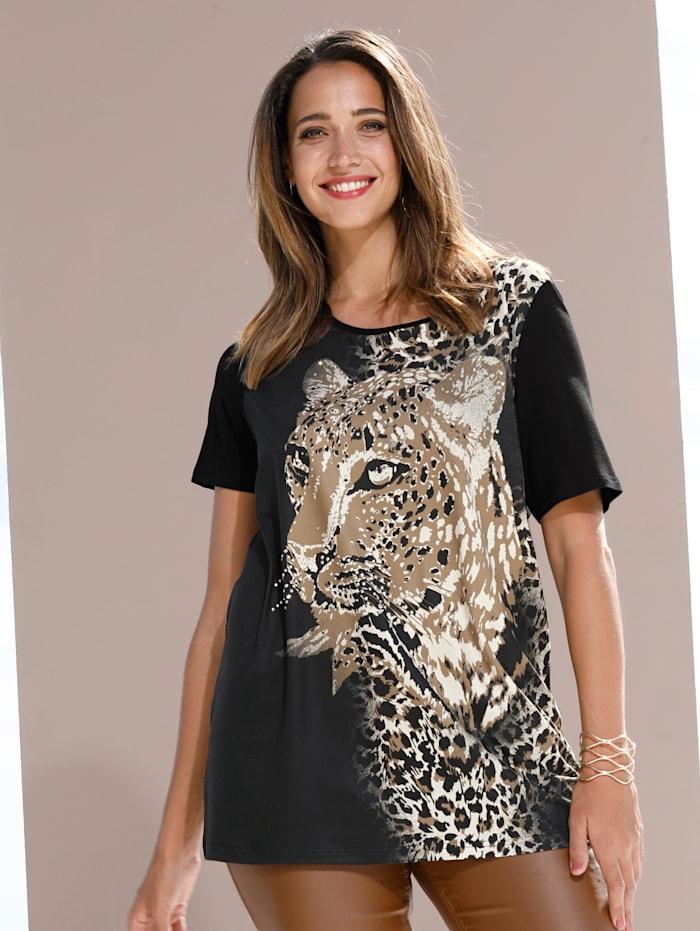 Shirt mit Leo-Motiv