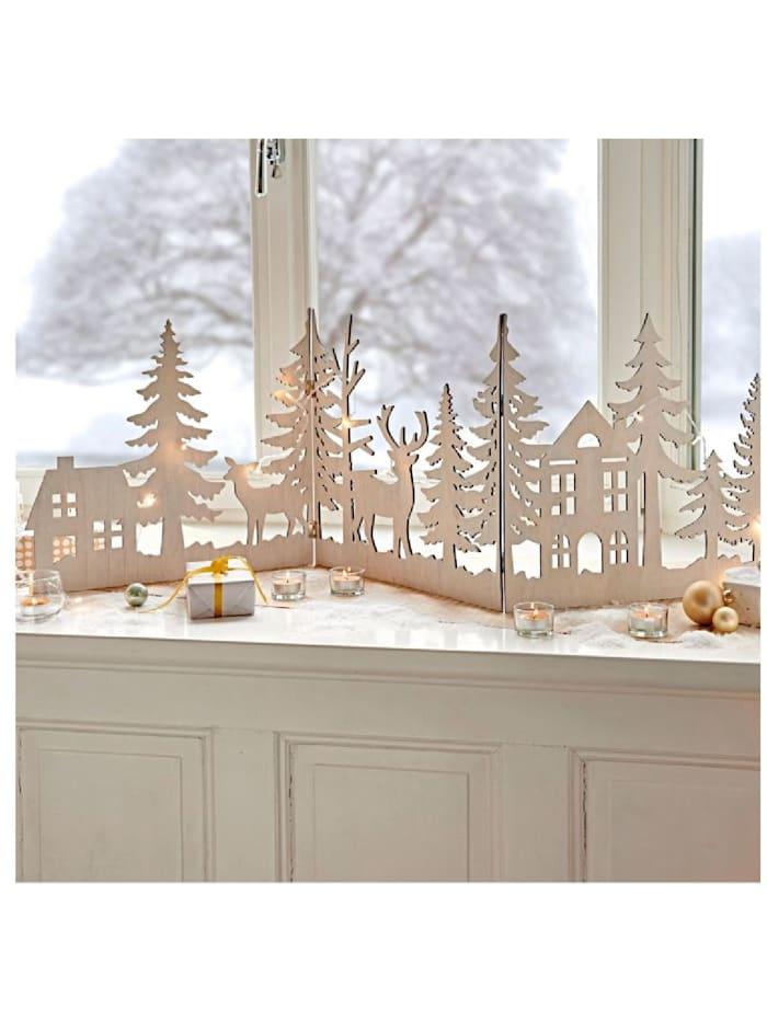 Weihnachts-Silhouette