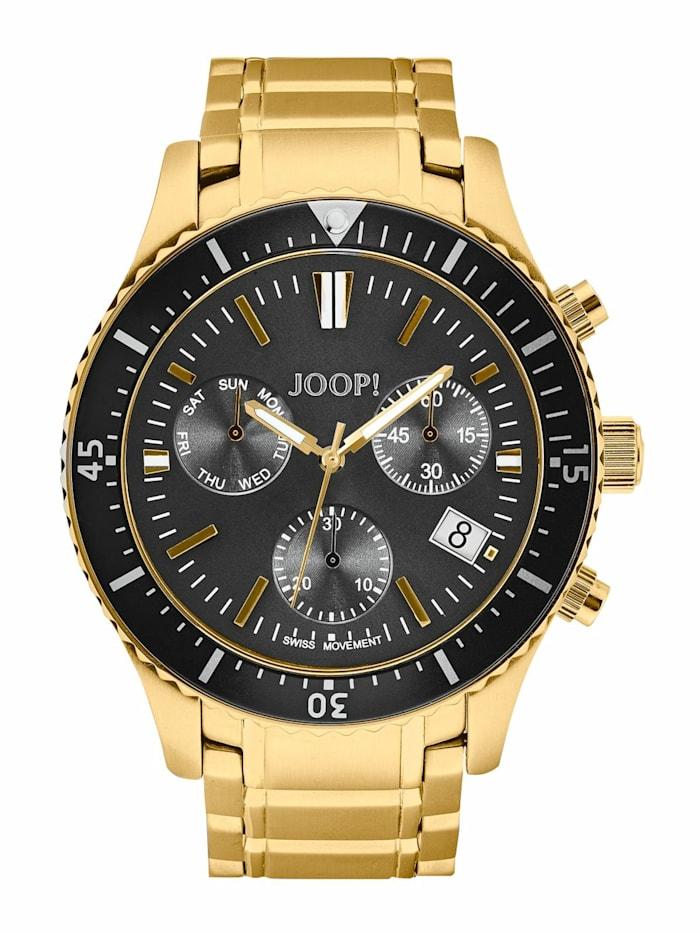 JOOP! Chronograph für Herren, Edelstahl IP Gold, Gold