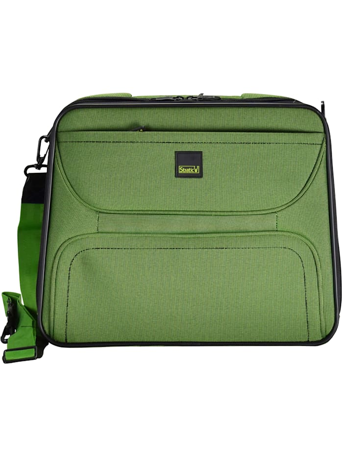 Stratic Bendigo III Flugumhänger 41 cm Laptopfach Organizer, Bodennägel, grün