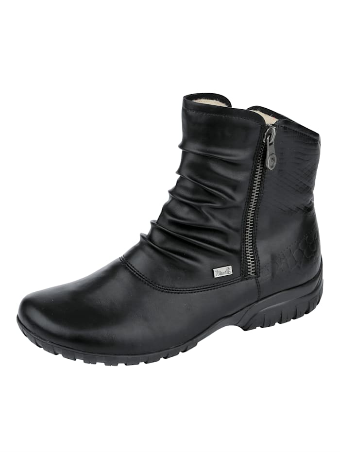 Ankle boot with the Rieker Tex function