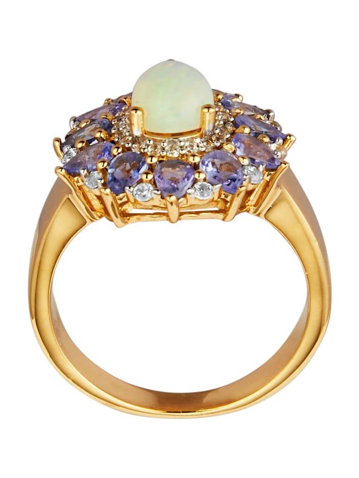 Damenring mit äthiopischem Opal