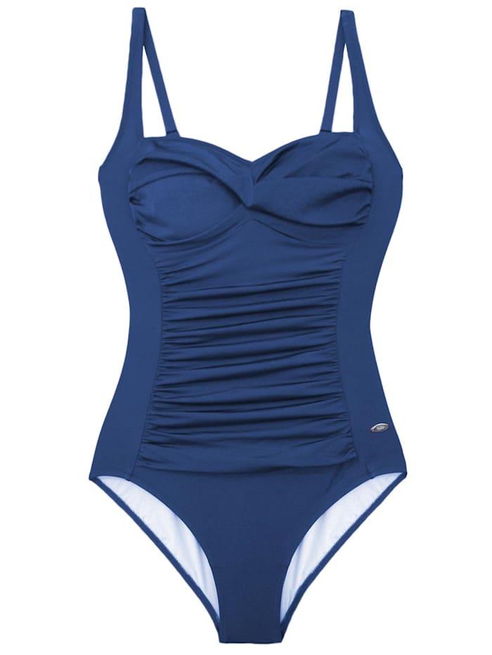 Susa Badeanzug Basics, blau