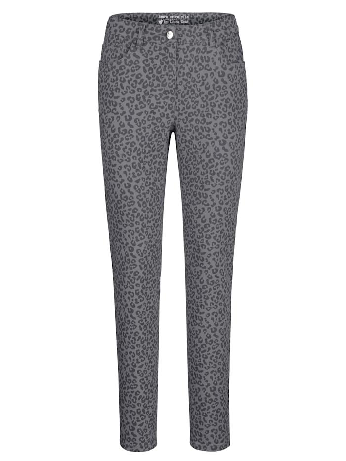 Jeans Laura Extra Slim - in modischem Alloverdruck