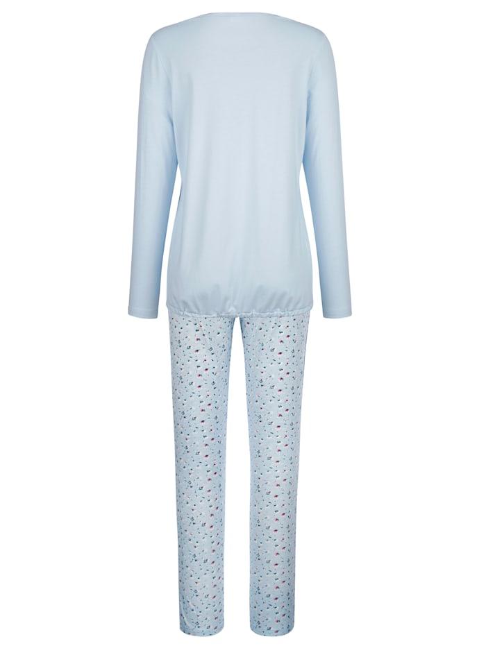 Pyjama avec lien à nouer