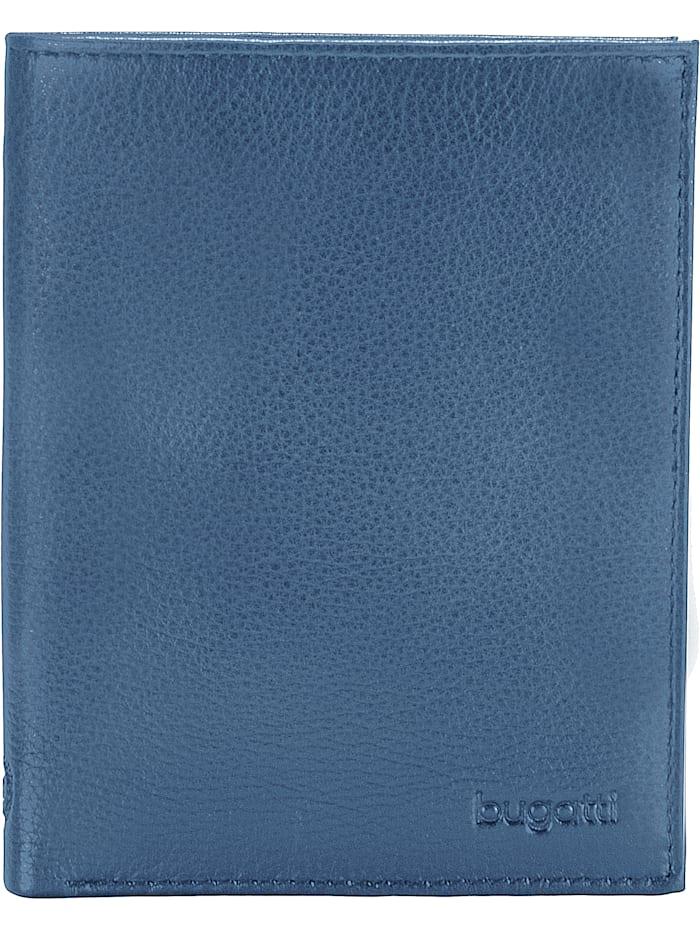 Bugatti Sempre Geldbörse Leder 10 cm, blue