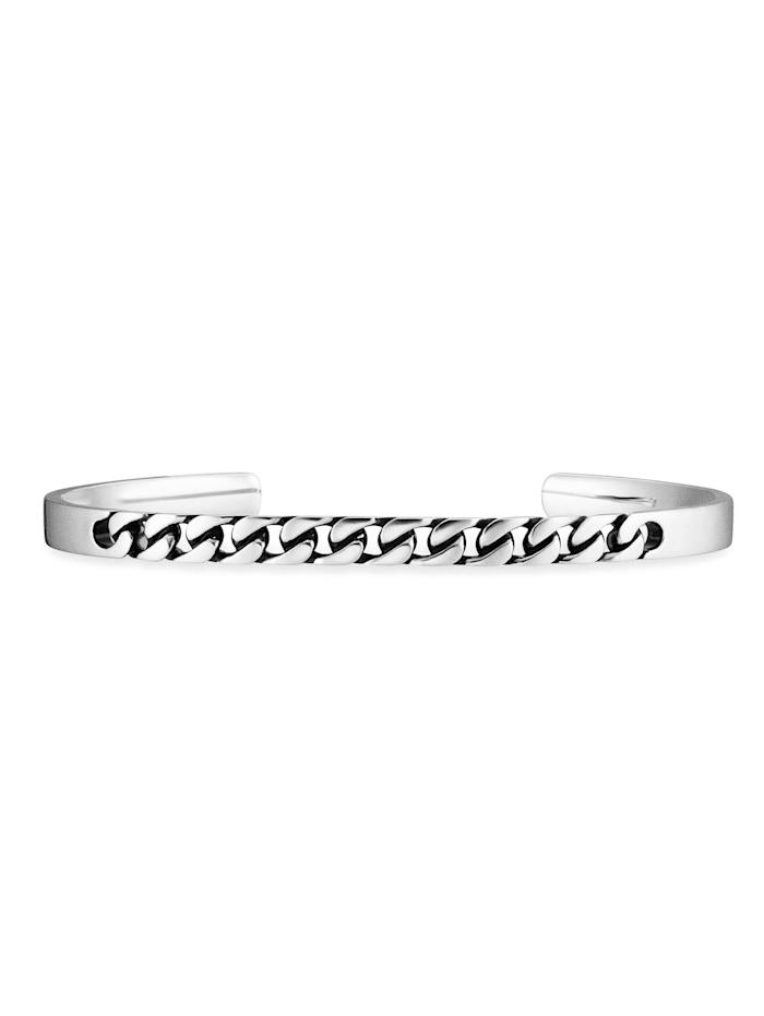 CAI Armband 925/- Sterling Silber ohne Stein 6,5cm glänzend, Silbergrau