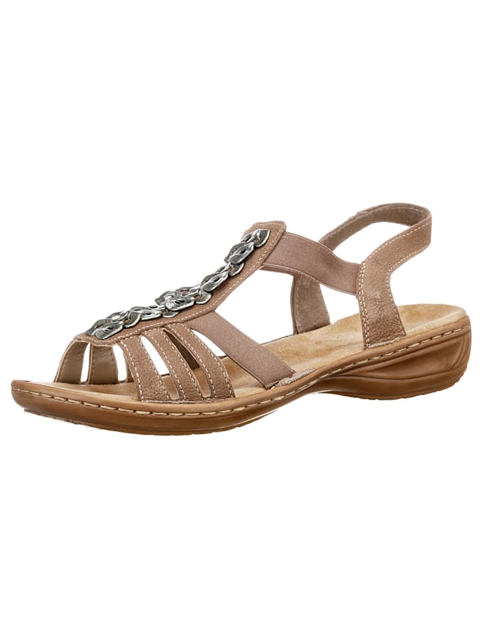 Rieker Sandals, Taupe