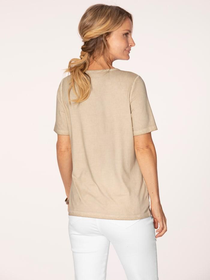 T-shirt de coloris mode