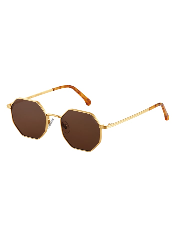 Komono Sonnenbrille, goldfarben