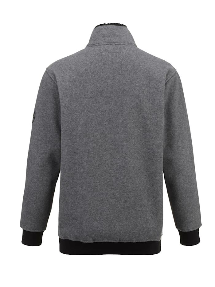 Fleece vest van superzacht materiaal