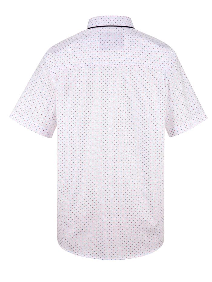 Chemise à motif minimaliste