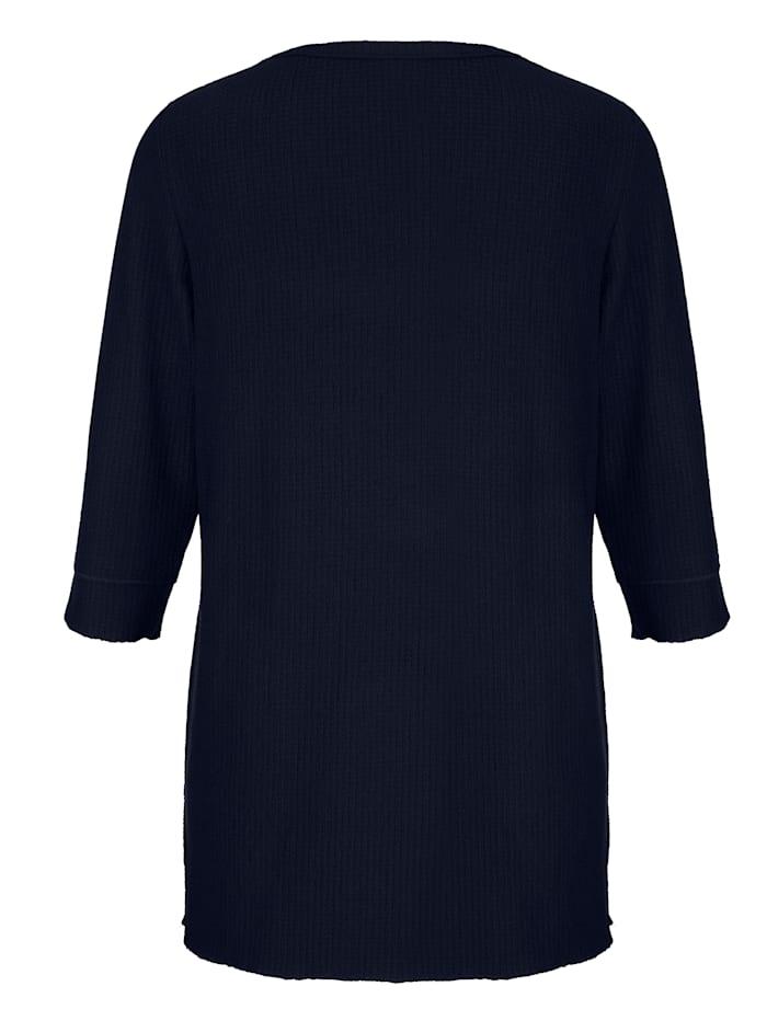 Shirt mit modischer Struktur