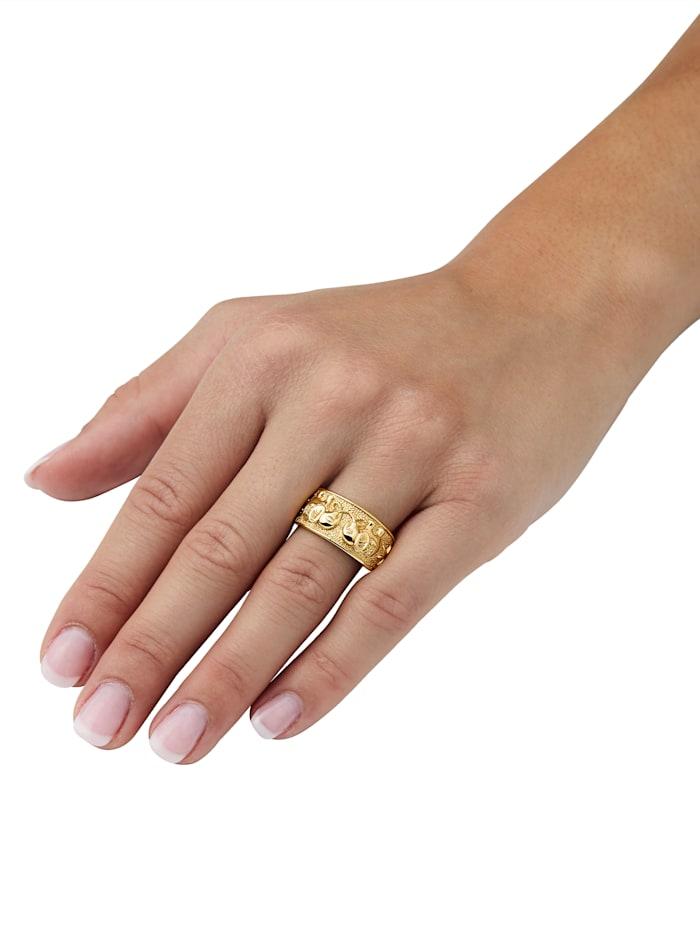 Elefanten-Ring in Gold