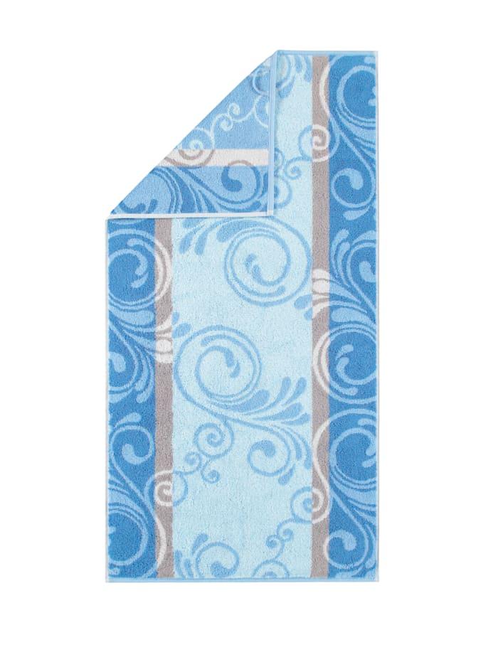 Cawö Frottierserie 'Florentine', blau
