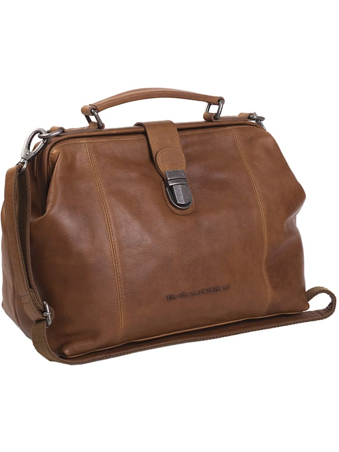 The Chesterfield Brand Wax Pull Up Shaun Doktorkoffer Leder 32 cm, cognac