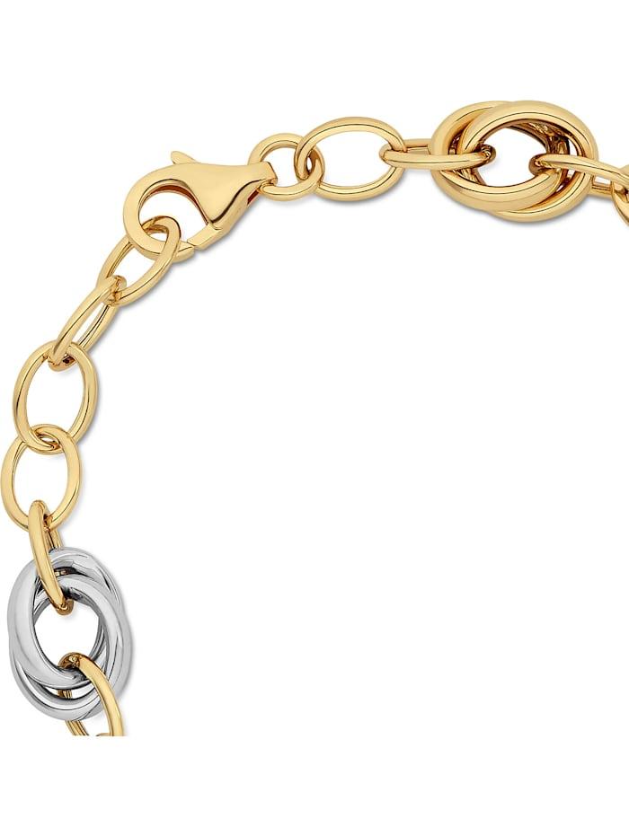 CHRIST Gold Damen-Armband 585er Gelbgold