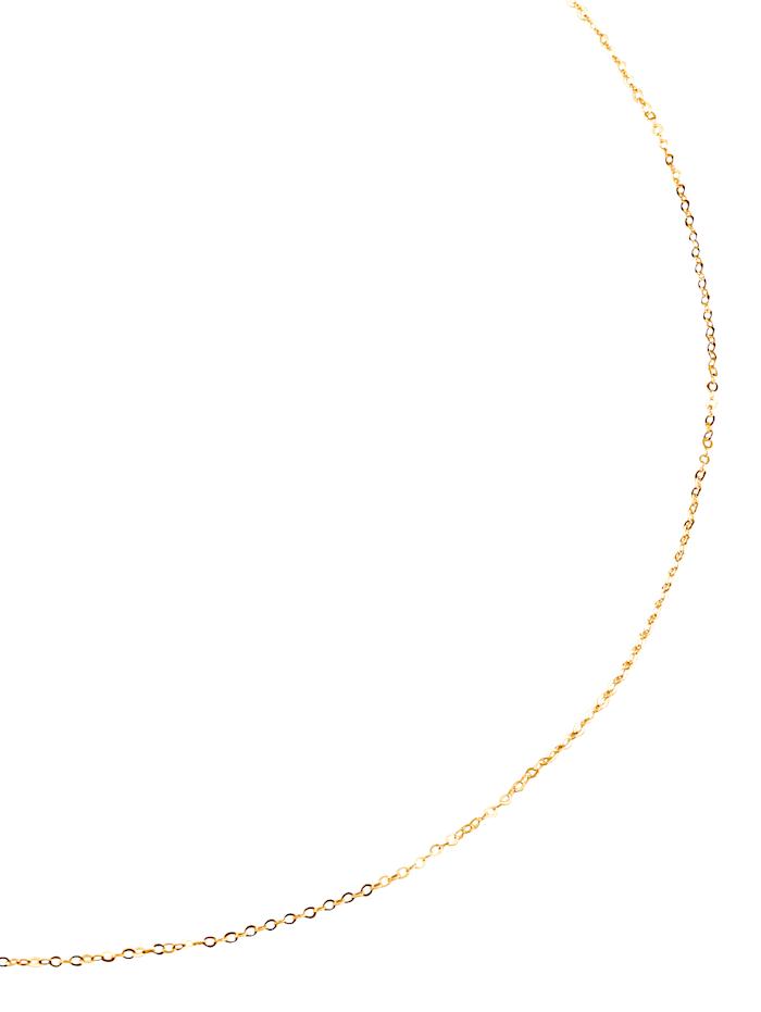 Ankerkette in Gelbgold, Gelbgoldfarben