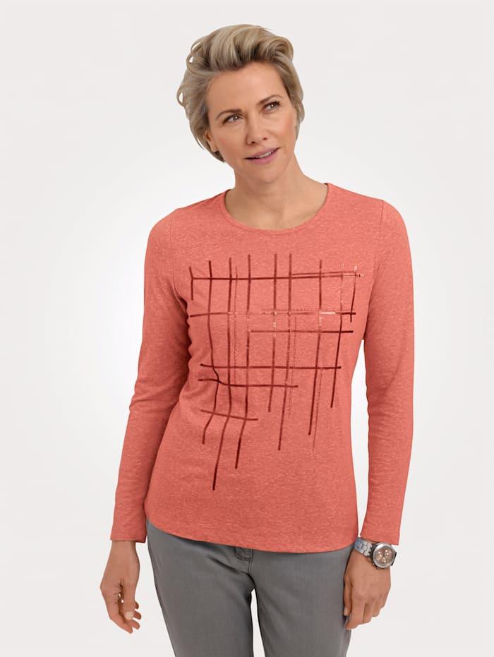 MONA Shirt zum Preisvorteil, Koralle