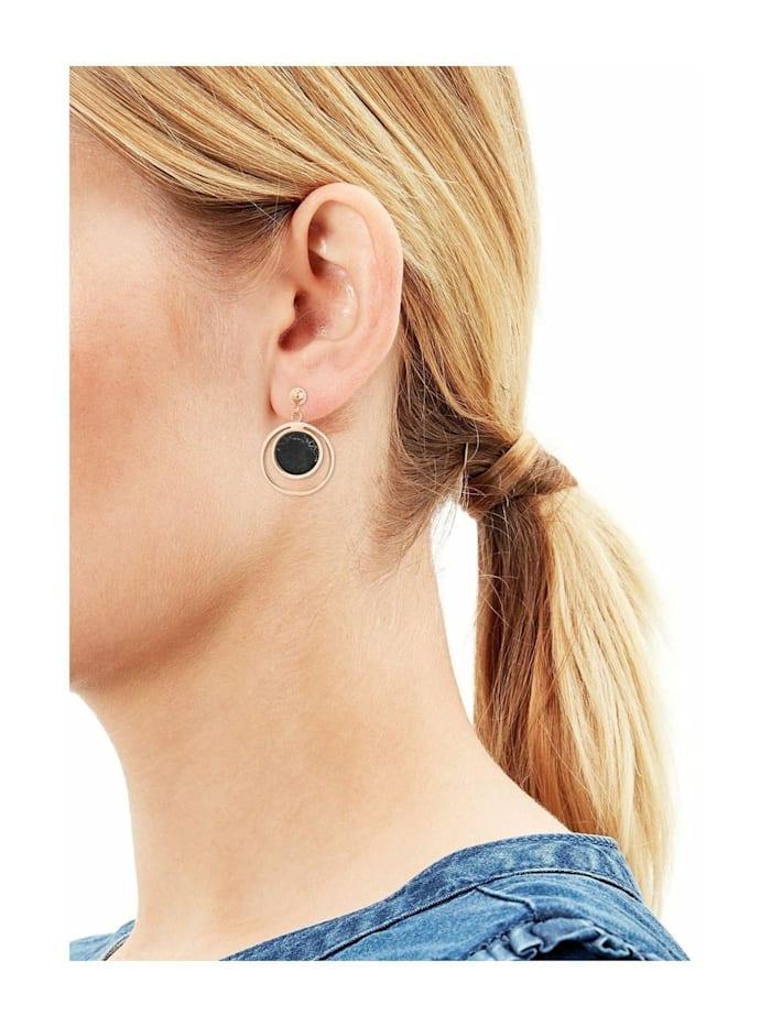 Ohrring für Damen, Edelstahl, Türkis