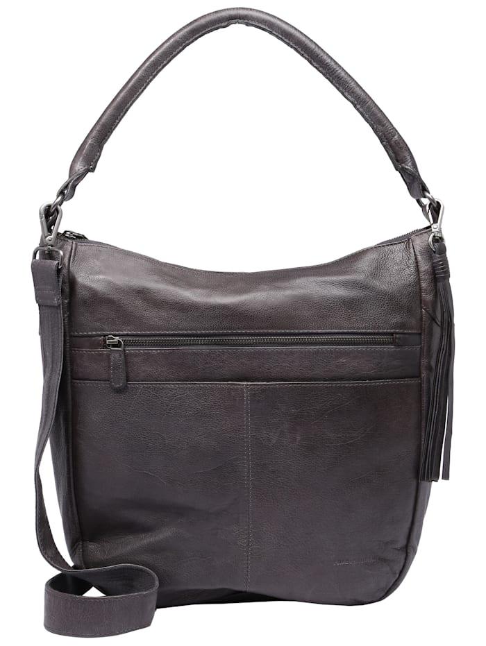 FredsBruder Hobo Bag Studdy, cool grey