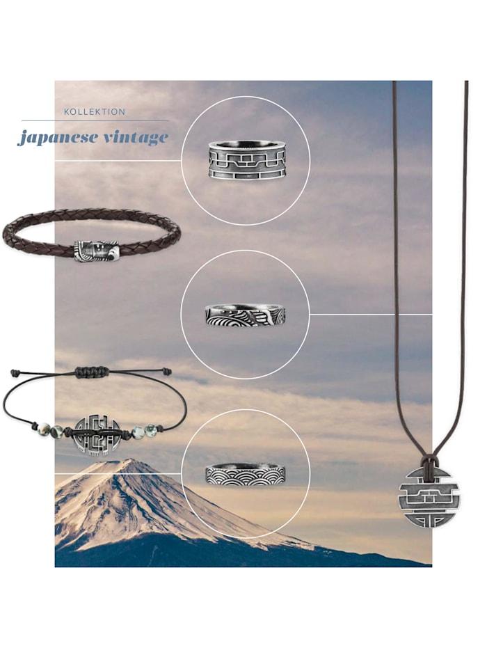 Armband 925/- Sterling Silber ohne Stein 21cm Mattiert
