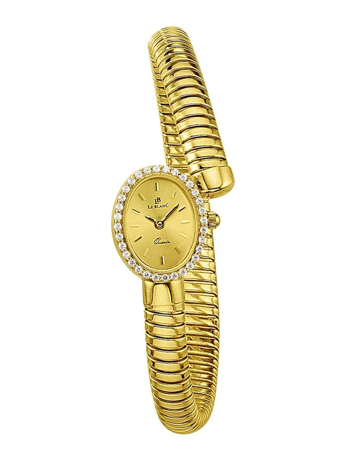 Le Blanc Montre femme en or jaune 585, Coloris or jaune